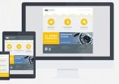 Webentwicklung und Webdesign für NN Security, Leipzig