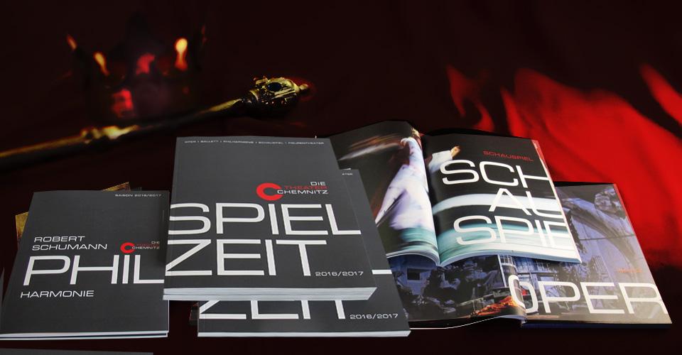 Konzertvorschau und Spielzeitbroschur der Theater Chemnitz