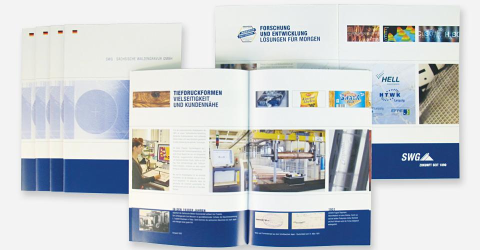 Bröschüre erstellen, Layout, Grafik und Druck von Punkt 191 Full-Service-Agentur