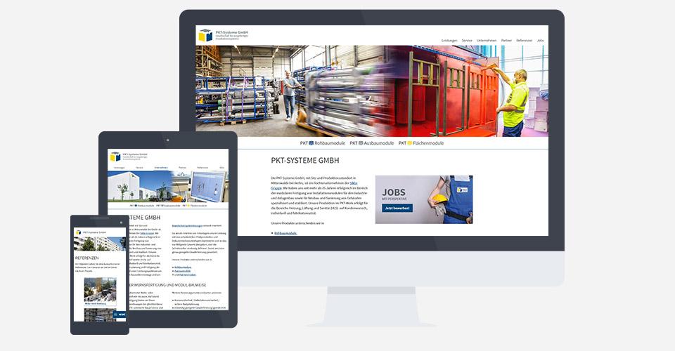 Gestaltung Ihrer Unternehmenswebseite