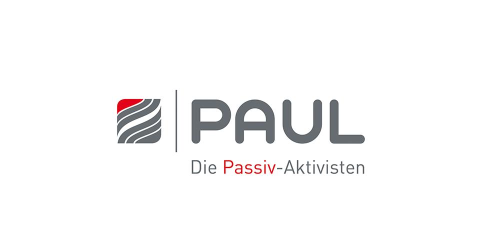Logoentwicklung für PAUL Wärmerückgewinnung GmbH