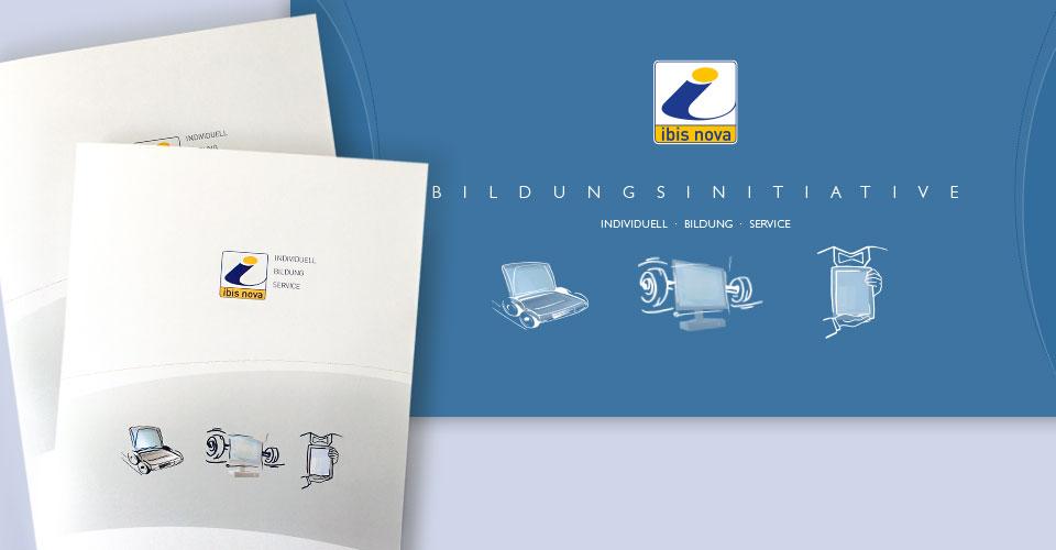 Geschäftsmappen Illustration und Design