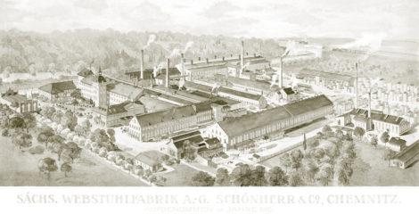 sächsische Webstuhlfabrik A. G. Schönherr & Co., chemnitz, 1910