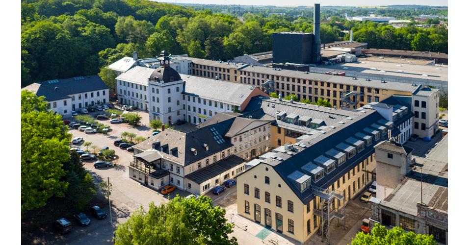 Luftbild Schönherrfabrik Chemnitz