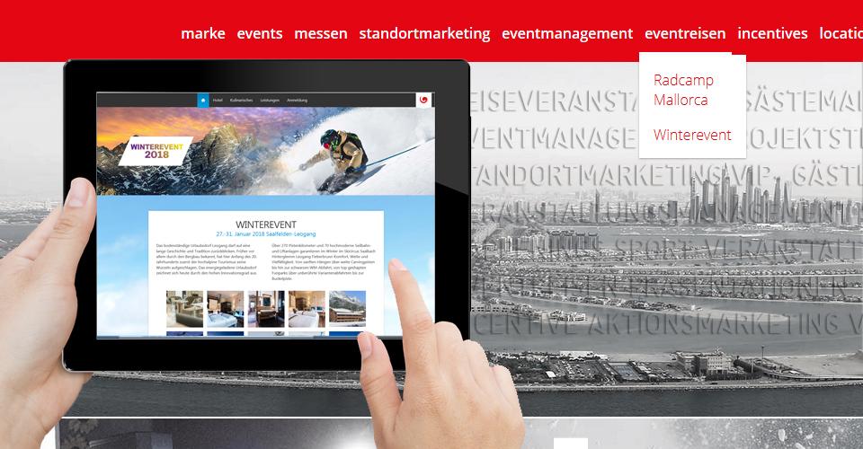 Website zu voll gepackt - Multi-Site Webdesign schafft Ordnung