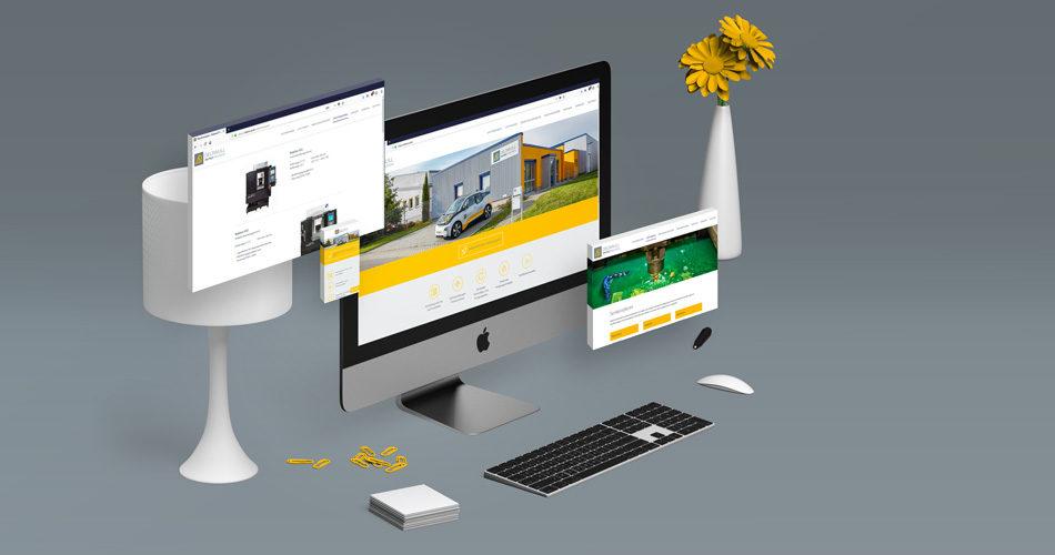 Konzept neue Webseite