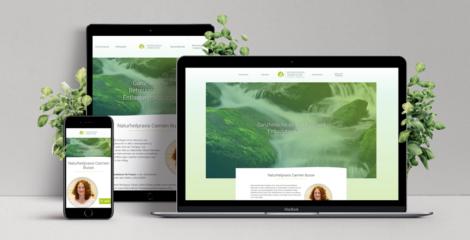 Entwicklung einer neuen Website für Naturheilpraxis Carmen Busse