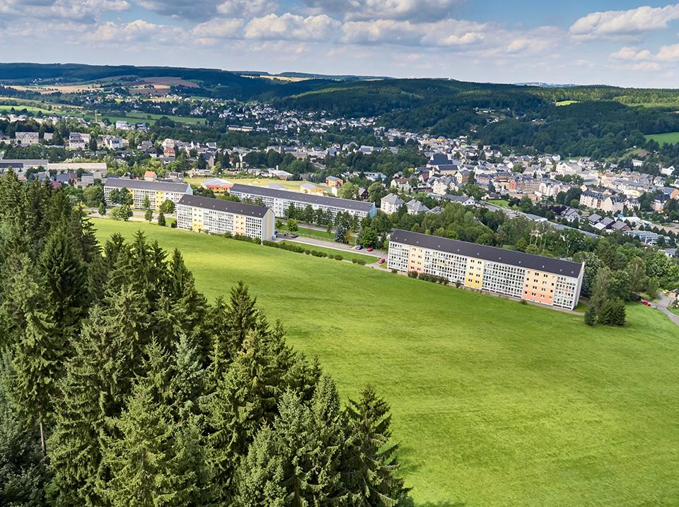 Drohnenfotografie, Werbung in Chemnitz