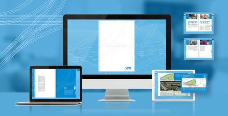 Interaktives E-Paper für die CVAG