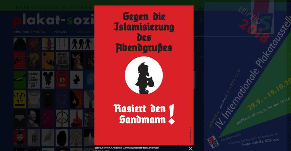 DEMOKRATIE – vor allem! Internationale Plakatausstellung Leipzig 2018