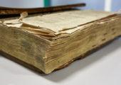 Restaurierung altes Buch Consilia