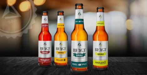 Produktbranding BERGT BRÄU